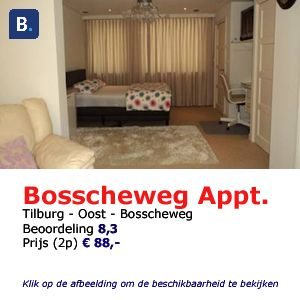 bed and breakfast tilburg bosscheweg studio
