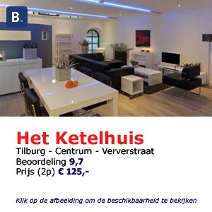 bed and breakfast tilburg househunting-shortstay het ketelhuis